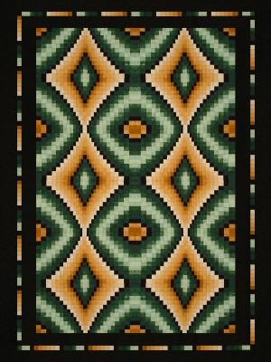 Lockwood Enterprises - DIAMOND LITES - Pattern #142 : lockwood quilts - Adamdwight.com
