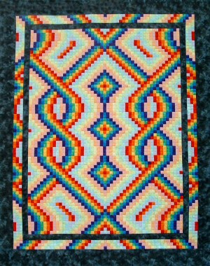 Bargello Quilt - Uses, Instructions and Patterns | Stitch